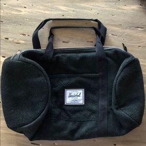 Herschel Black Duffle Bag